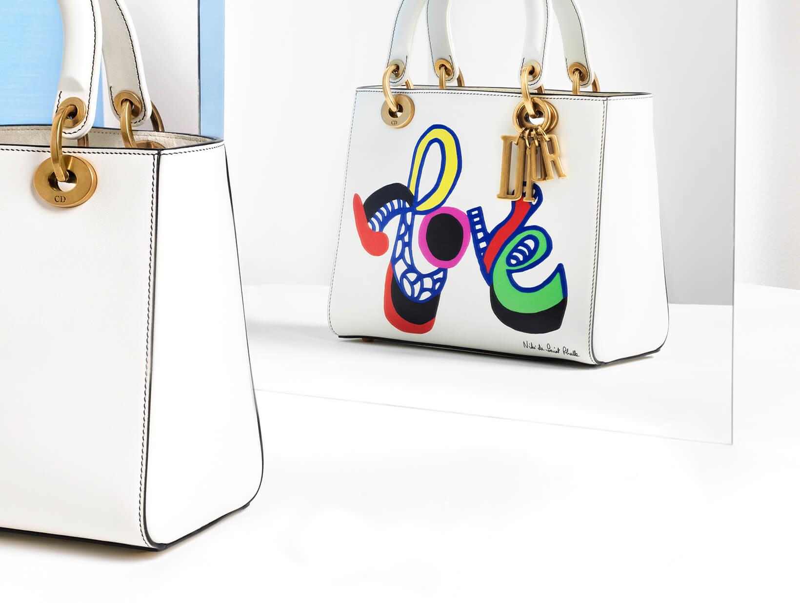 Lady Dior Medium Love Bag