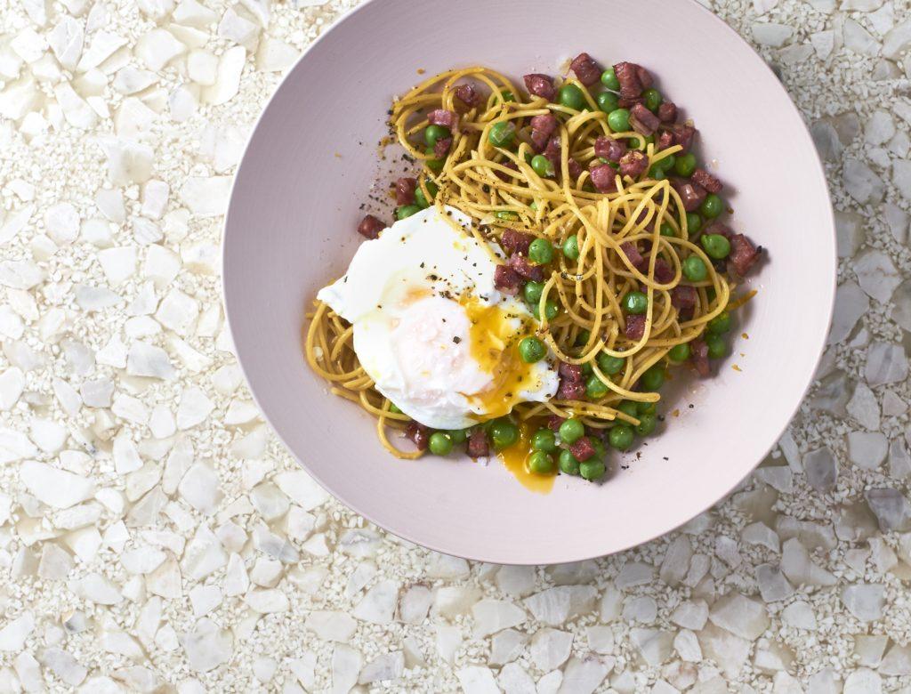 Carbonara Ish Pasta Recipe Goop