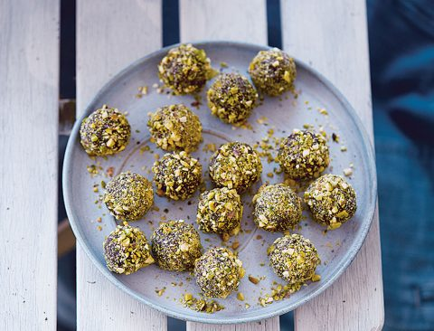 Pistachio & Orange Truffle Bites