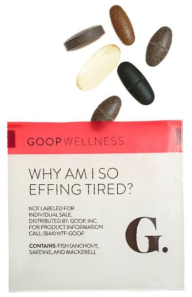 Effing tired goop Wellness