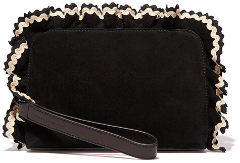 LOEFFLER RANDALL Attache Ruffle Clutch