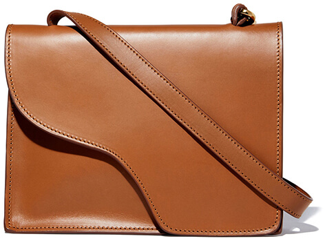 ATP ATELIER Siena Tan Leather Crossbody