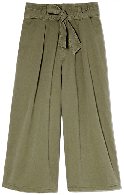 Nili Lotan Ellie Stretch-Twill Pants