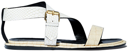 STELLA MCCARTNEY Flat Criss-Cross Sandals