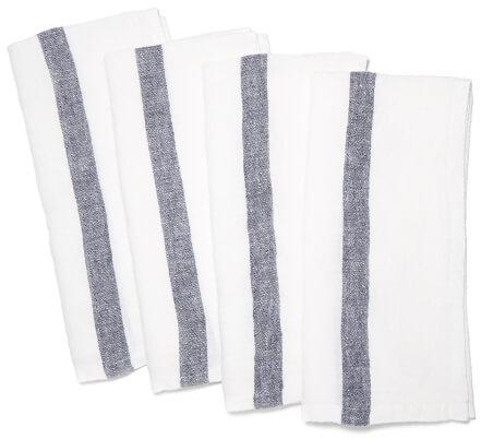 CARAVAN Laundered Linen Napkins, Set of 4