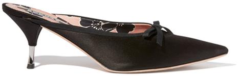 ROCHAS Pointy Toe Kitten Heels