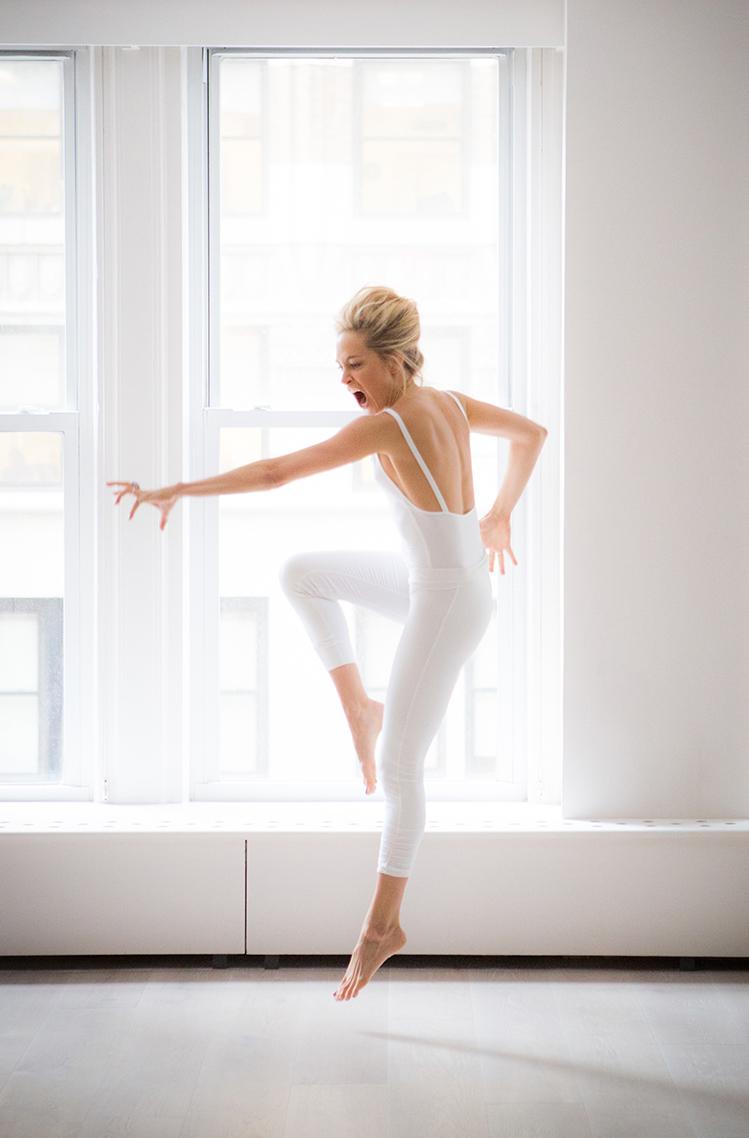 Taryn in the dance studio