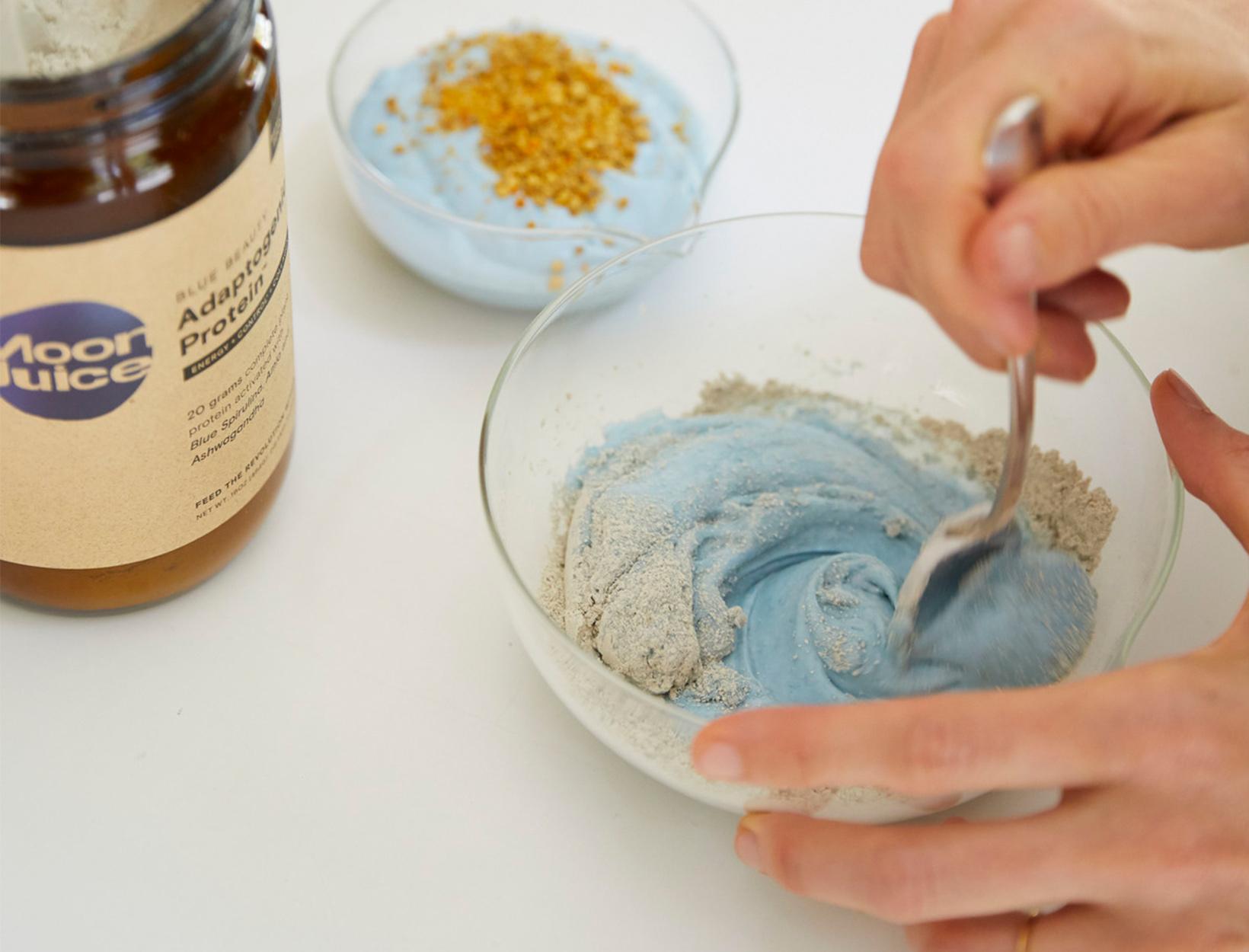 Blue Beauty Yogurt Bowl