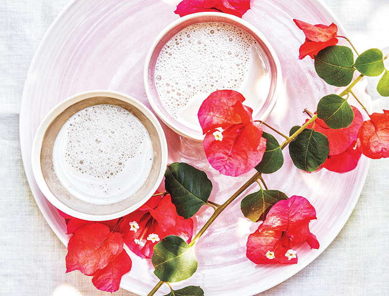 Rose Latte Recipe | Goop