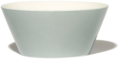 Anne Black Plain Porcelain Bowl
