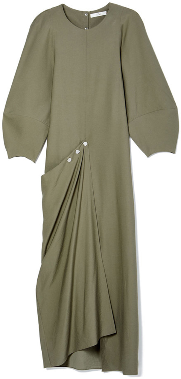 TIBI Washed Viscose Maxi Dress