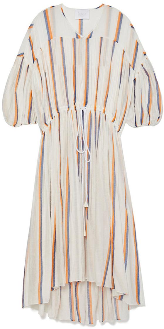 MONACO STRIPED CAFTAN DRESS