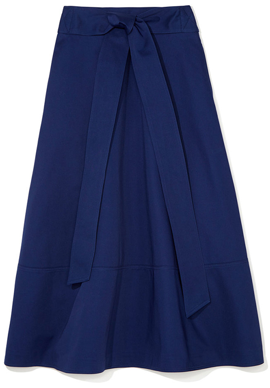 LILY BELTED FLARE SKIRT