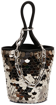 Mini Roxy Sequin Bucket Bag