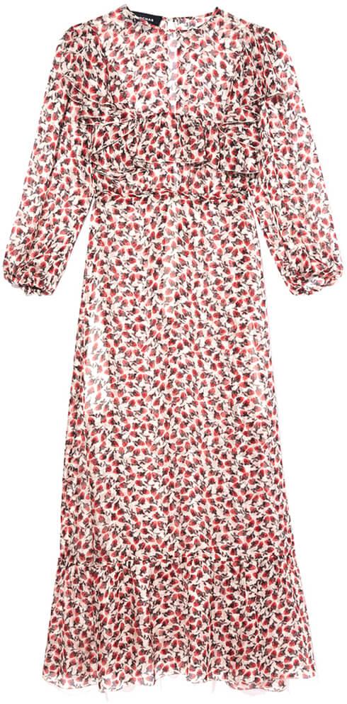 Mazzet Chiffon Printed Dress