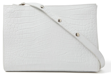 LITTLE LIFFNER Small Croc Shopper