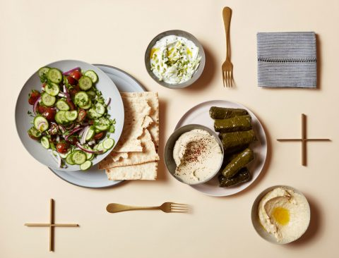 Meatless Monday Mezze Platter