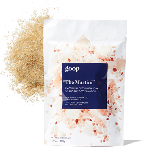 goop The Martini Emotional Detox Bath Soak