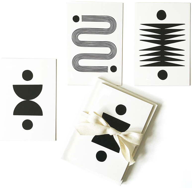 Block Shop Foiled Stamped Notecards