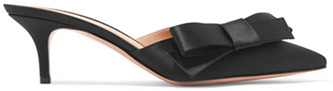 GIANVITO ROSSI embellished satin mules