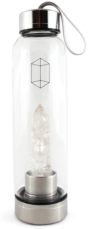 GLACCE Clear Quartz Bottle