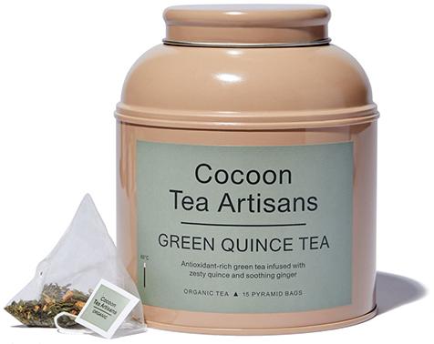 COCOON TEA ARTISANS 100 Percent Organic Green Quince Tea