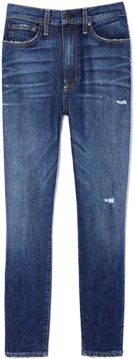 AO.LA by alice + olivia Good High-Rise Cropped Skinnies