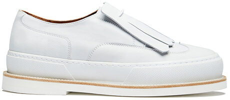 CLERGERIE TANIA LEATHER SNEAKERS