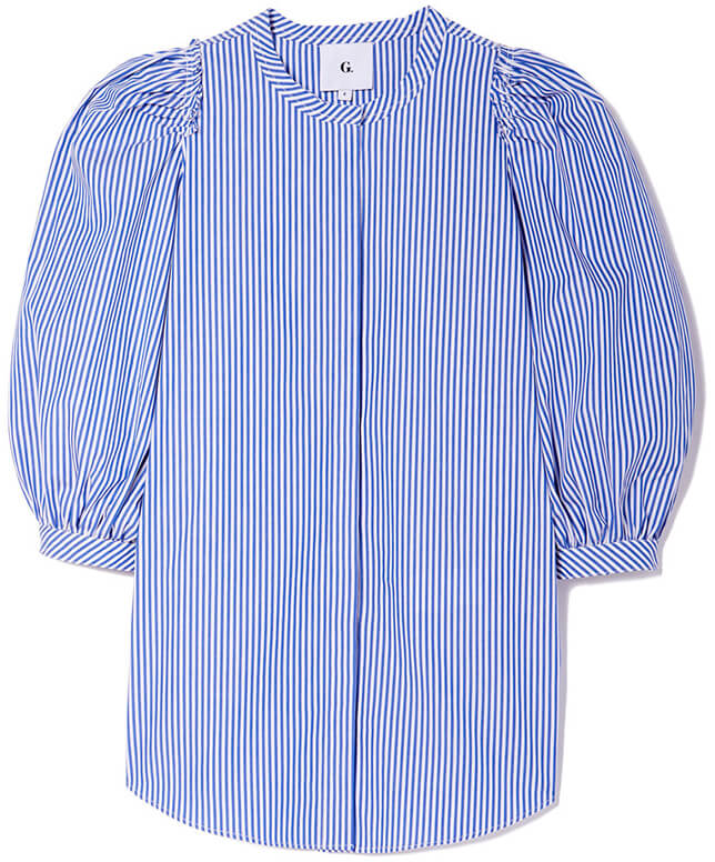 G. LABEL Tracy Puff Sleeve Button Down