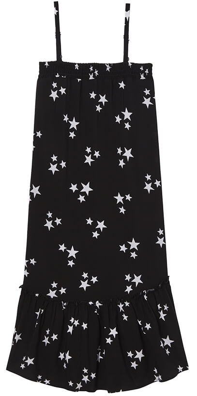 ROCKETS OF AWESOME Star Ruffle Midi Dress
