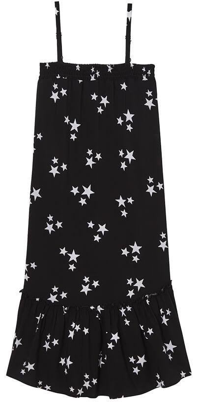 ROCKETS OF AWESOME Star Ruffle Midi Dress