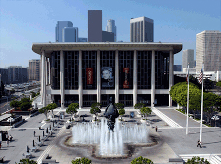 Dorothy Chandler Pavilion Downtown Los Angeles