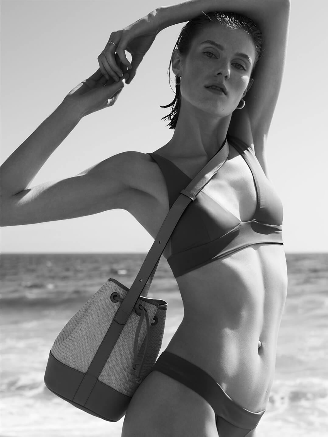 Model with HAIGHT Bikini
