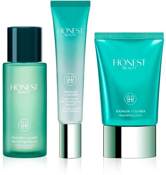 The Honest Company Younger + Clearer Anti-Acne + Anti-Aging Kit