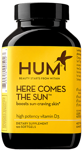 HUM NUTRITION Here Comes the Sun High-Potency Vitamin D3