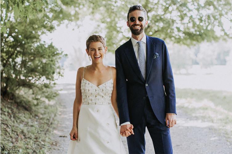 Lizzie Fortunato Wedding