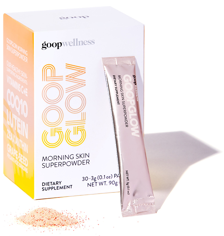 goop wellness, goopglow