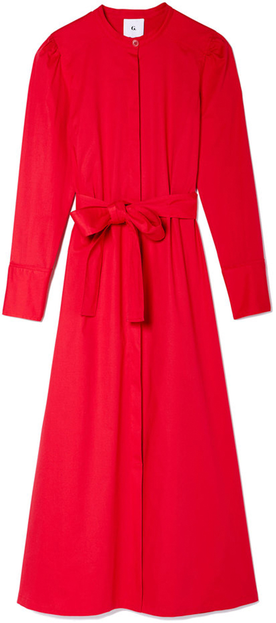 G. LABEL Sarah Poplin Shirtdress