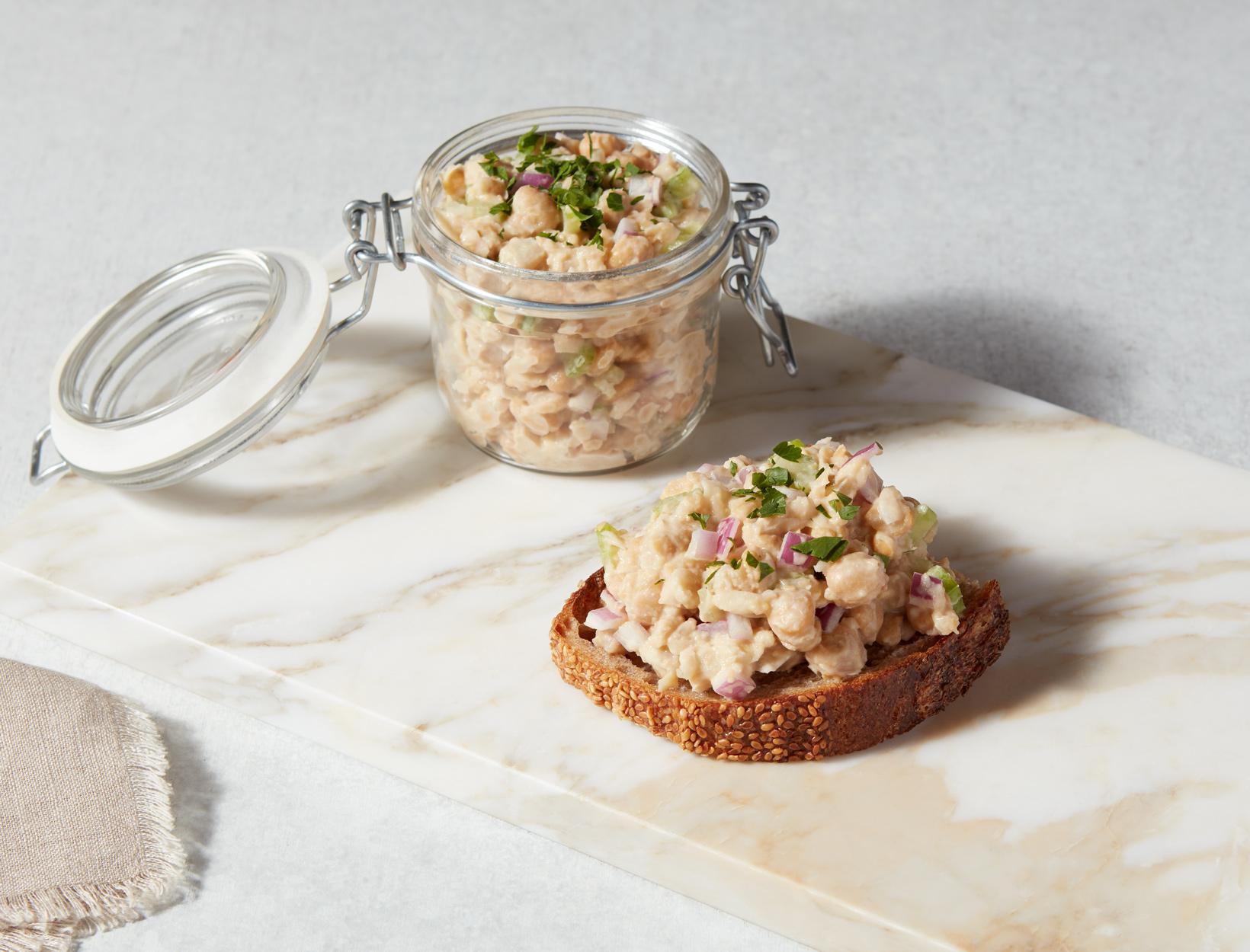 """Vegan Chickpea """"Tuna"""" Salad Recipe   Goop"""