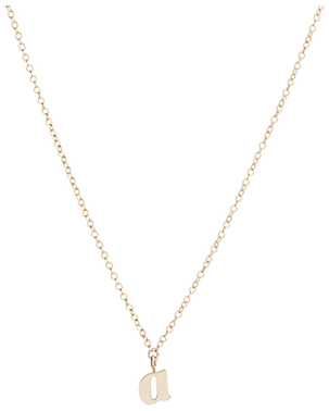 Ariel Gordon Initial Necklace