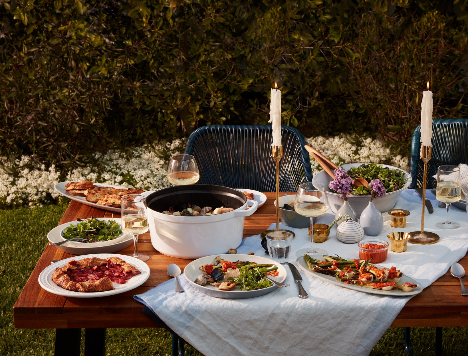 The Spring-Bounty Dinner Party | Goop