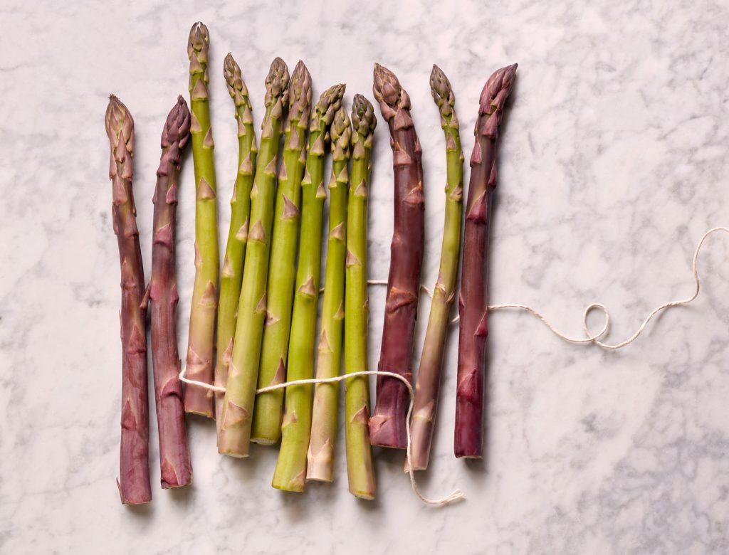 At the Farmers' Market Now: Asparagus
