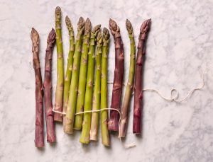 At the Farmers' Market Now: Asparagus