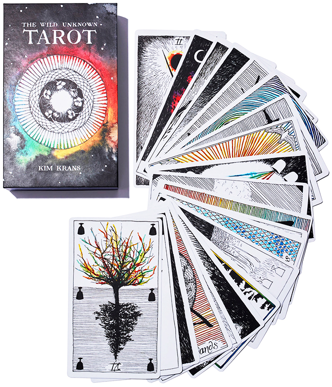 The Wild Unknown Deck and Guidebook Tarot deck