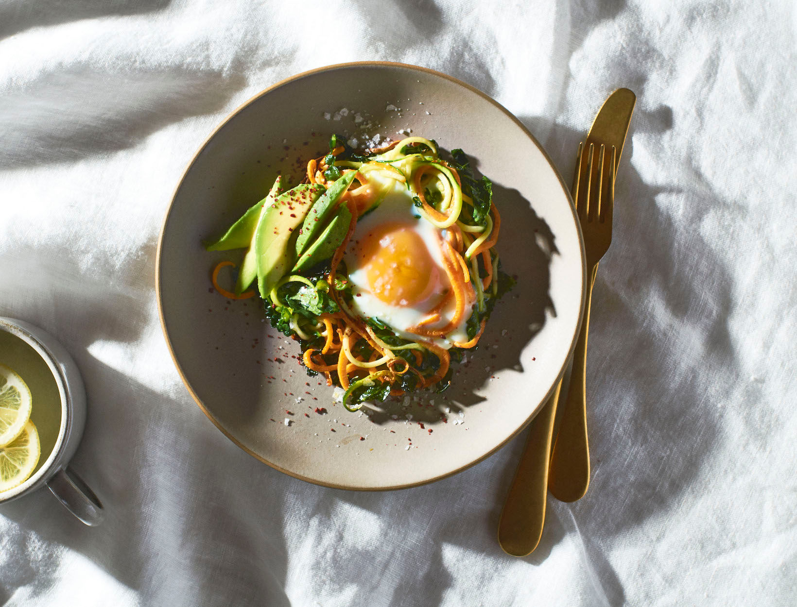 Veggie Egg Nests
