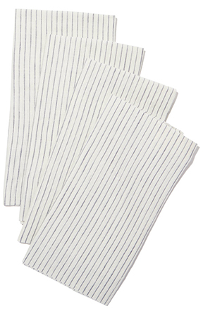 The Beach People FRENCH LINEN NAPKINS, SET OF 4