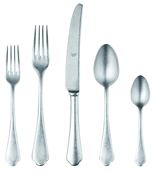 Mepra 5-Piece Silver Flatware Set