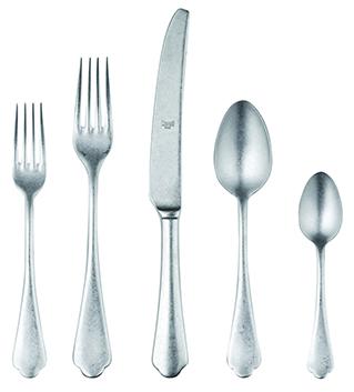 Mepra 5-Piece Silver Flatware Set