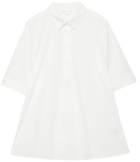 White COS Collard Shirt