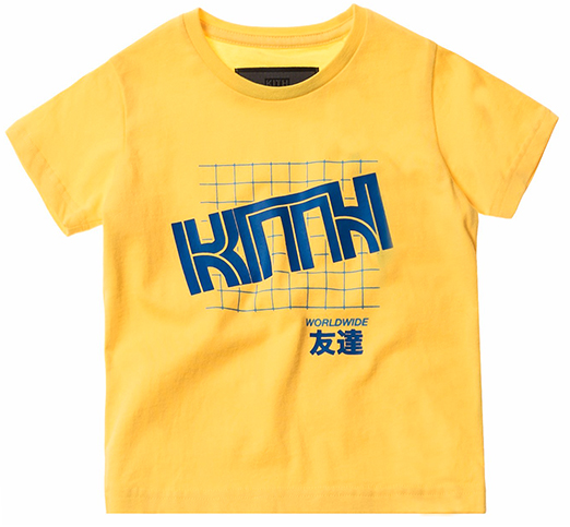Kith Yellow Graphic Tee